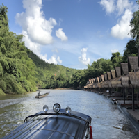 3 Dagen River Kwai Jungle Rafts, Resotel of Floathouse
