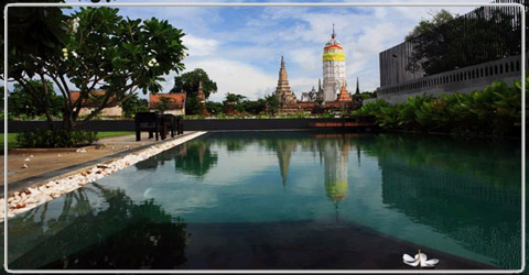 Iudia On the River Ayutthaya thailand